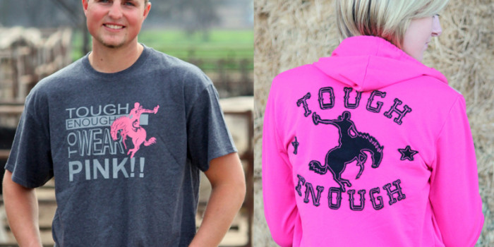 October is Breast Cancer Awareness Month: Gear Up to Support Tough Enough To Wear Pink!