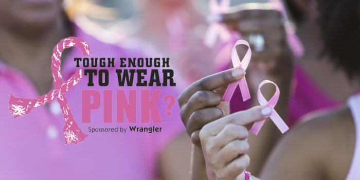 October 17 is Tough Enough To Wear Pink Day!