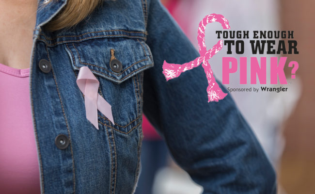 October 16 is Tough Enough To Wear Pink Day!